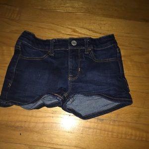 Pants - little jean shorts